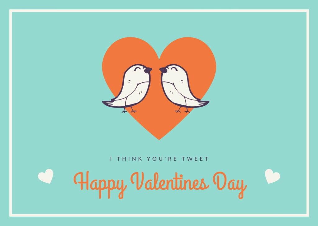 Valentine's Day Card for Tweet