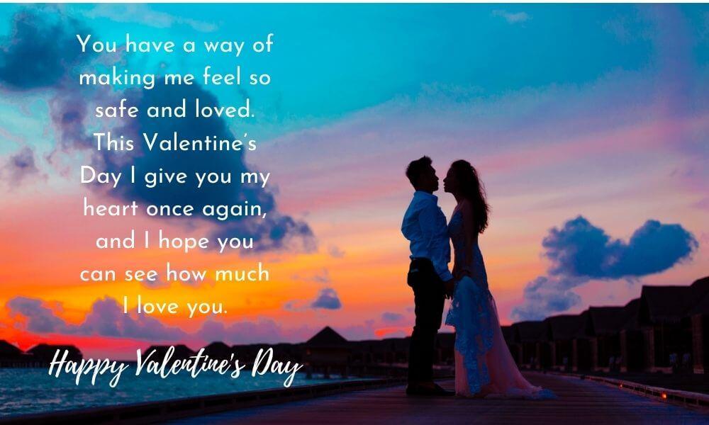 Valentine's Day Text Wish for Boyfriend