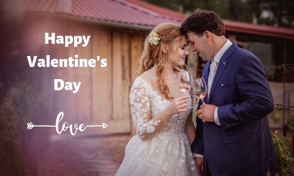 Valentine's Days Text Wish for Husband