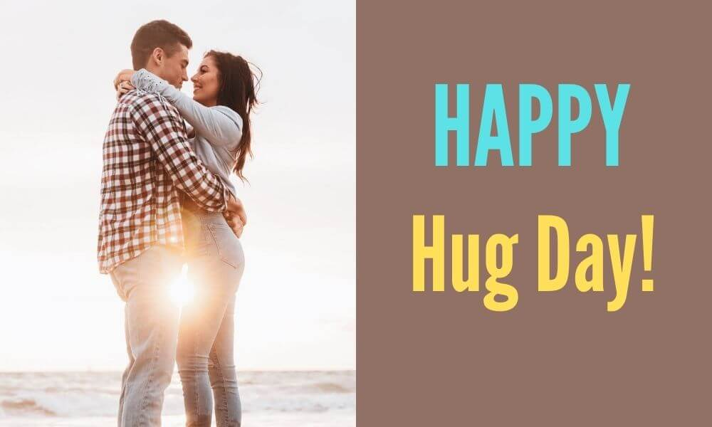 Happy Hug Day Message for Her