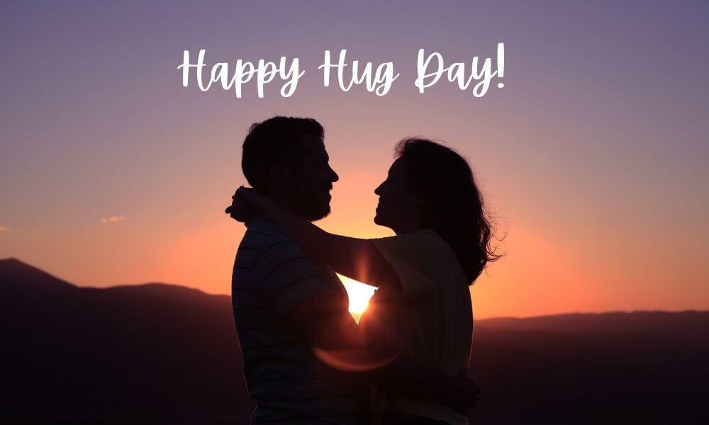 Happy Hug Day Wish for Boyfriend