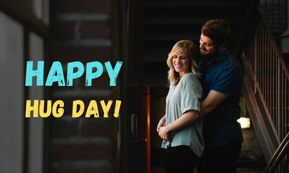 Happy Hug Day Wish for Her