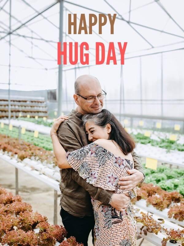 Happy Hug Day Wish for Husband