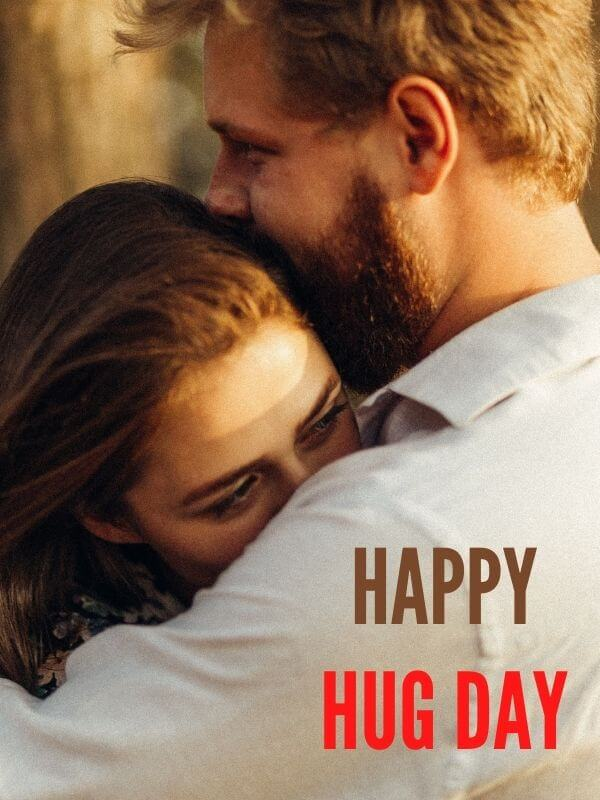 Happy Hug Day Wish for Lover