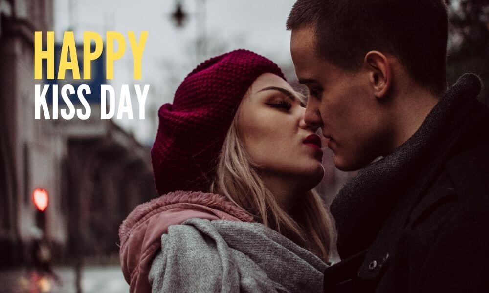 Happy Kiss Day Message for GF