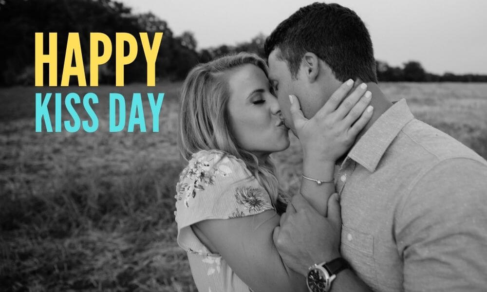Happy Kiss Day Message for Her
