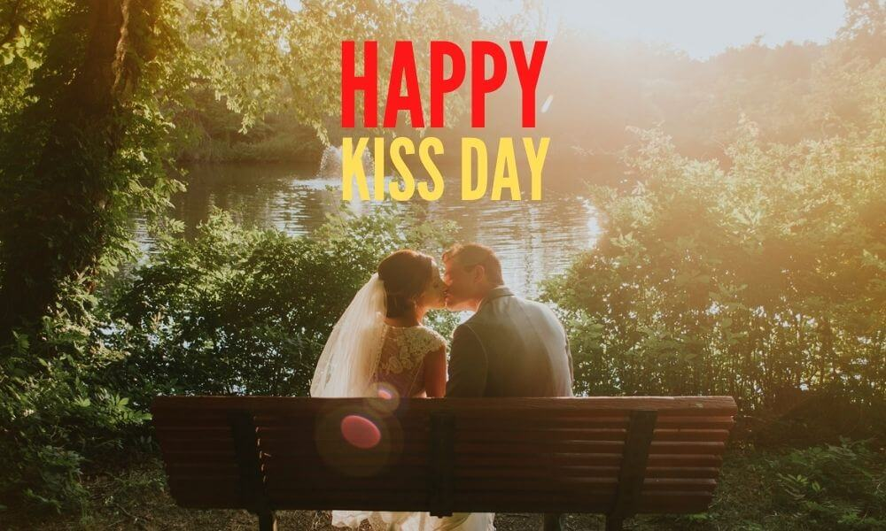 Happy Kiss Day Message for Wife