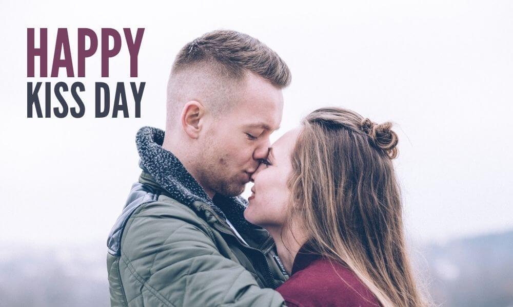Happy Kiss Day Wish for GF
