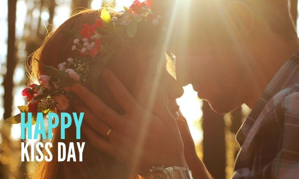 Happy Kiss Day Wish for Her
