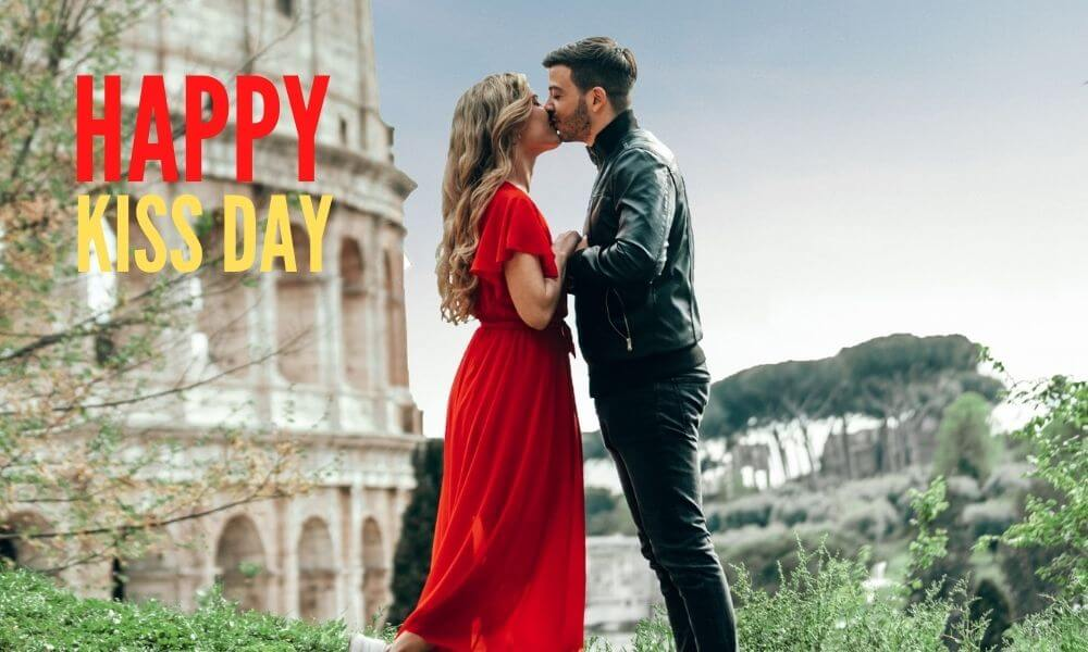 Happy Kiss Day Wish for Him