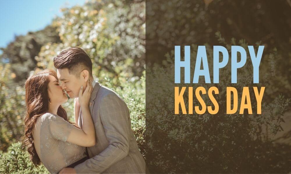 Happy Kiss Day Wish for Husband