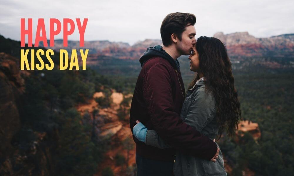 Happy Kissing Day Wish for GF