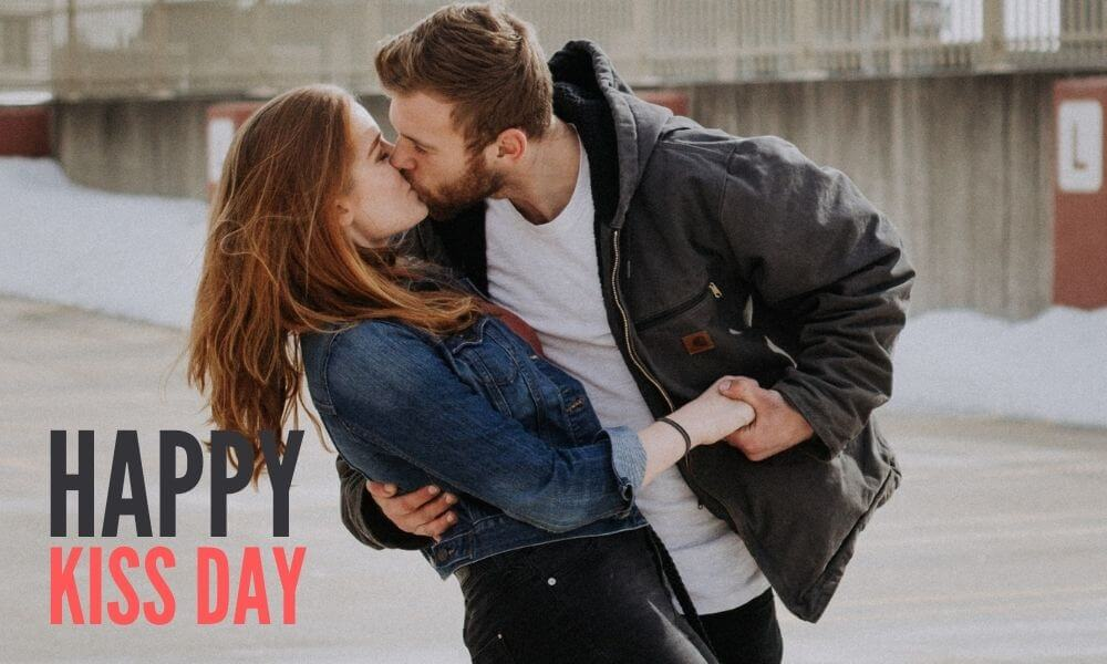Happy Kissing Day Wish for Girlfriend