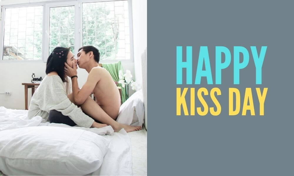 Happy Kissing Day Wish for Husband