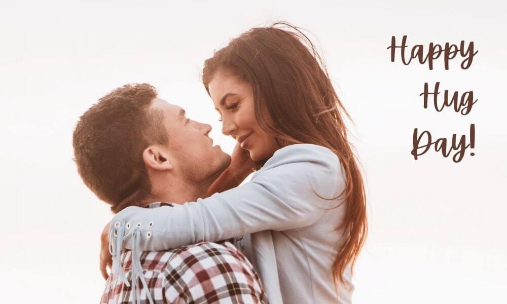 Hug Day Wish for Boyfriend
