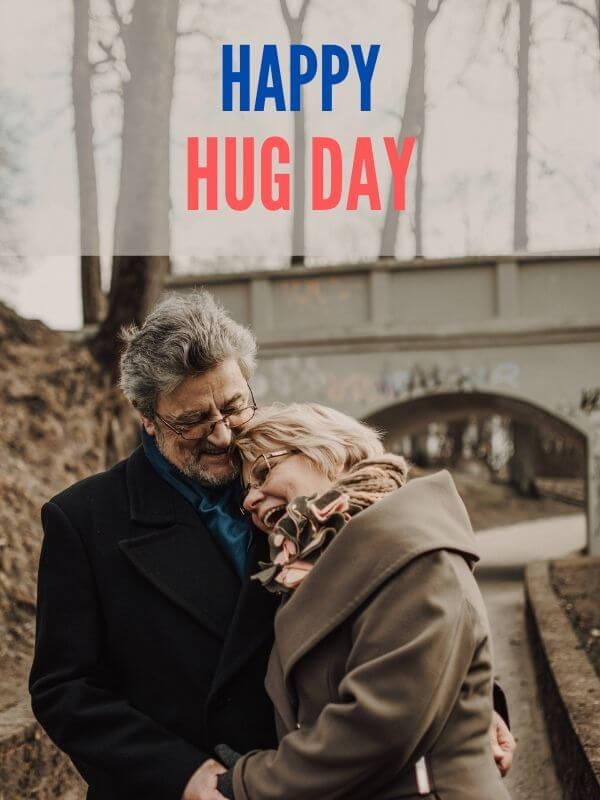Hug Day Wish for Husband