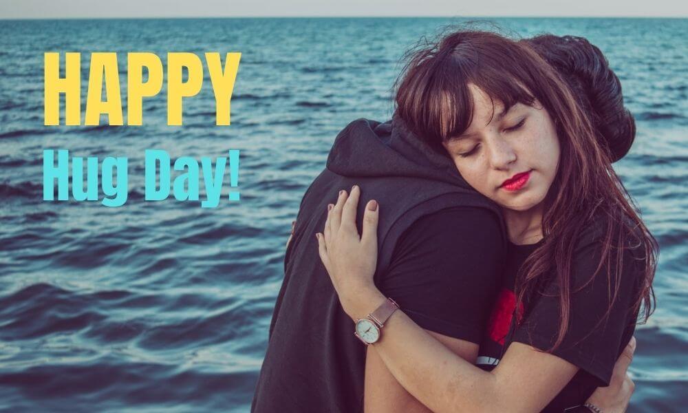Hug Day Wish for Wife