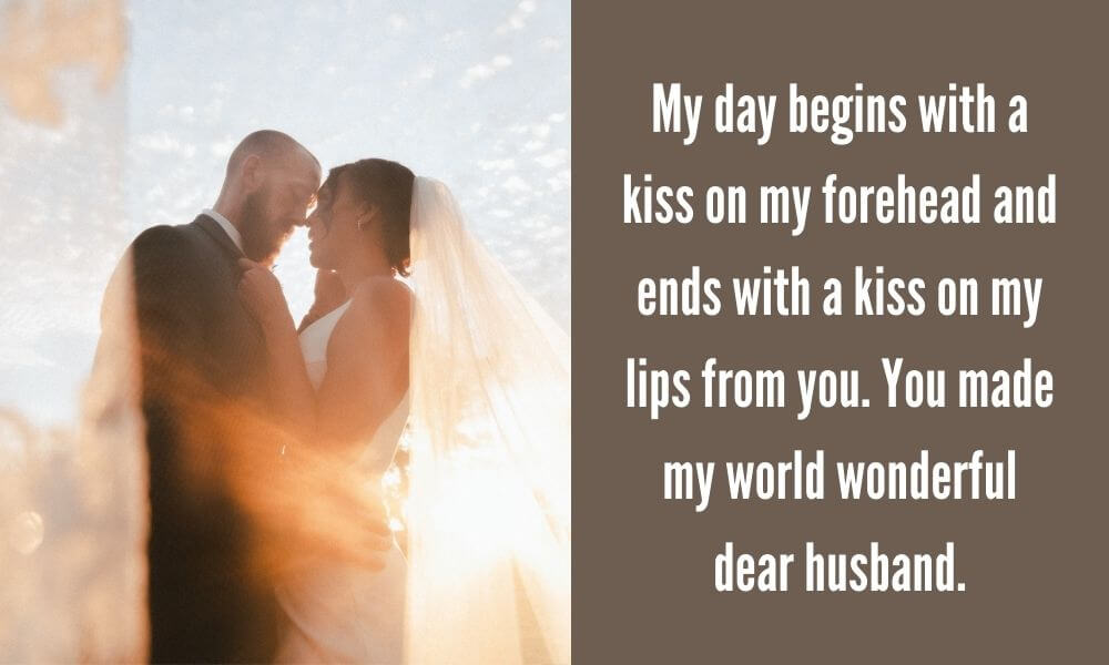 Kiss Day Quote for Wife