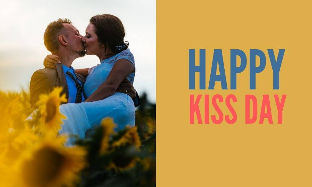 Kiss Day Wish for Sweetie
