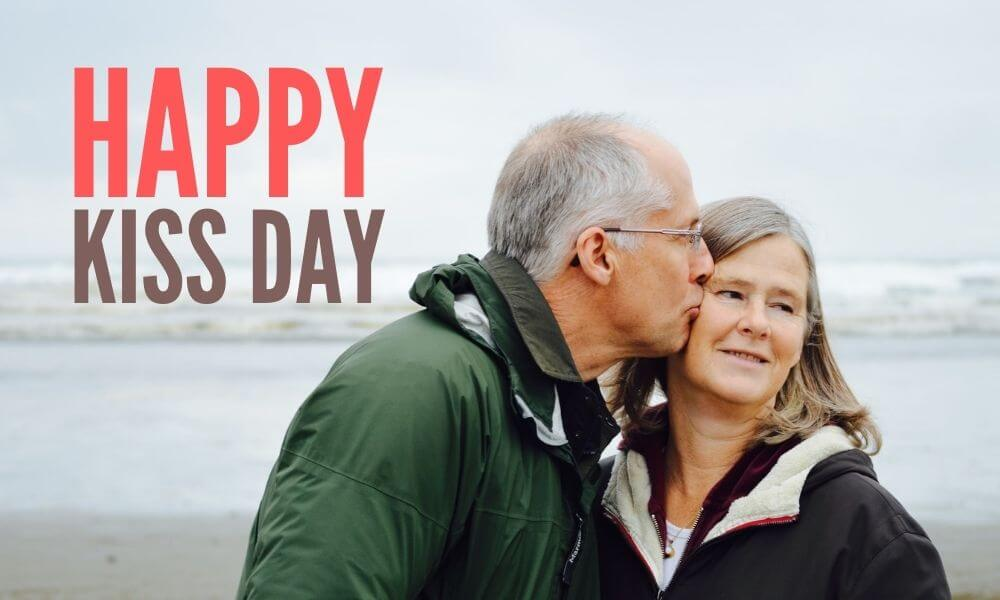 Kissing Day Wish for Wife