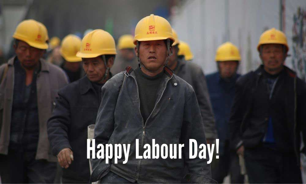 Happy Labour Day Wishing Text
