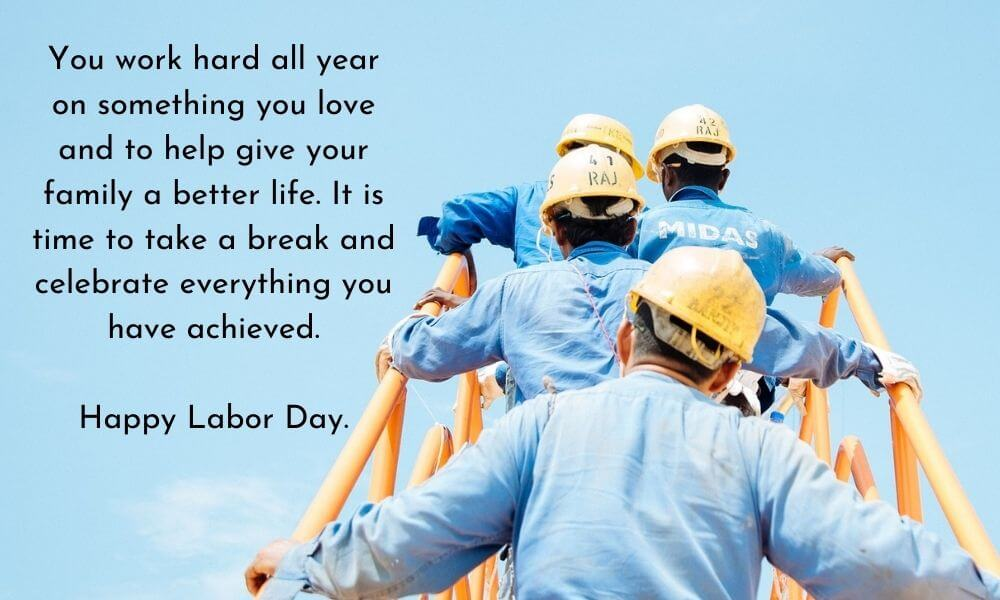 Labor Day Message Wish