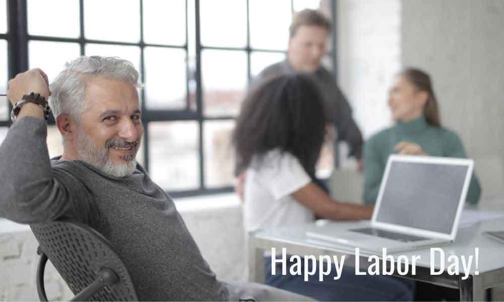 Labor Day Wish on Image