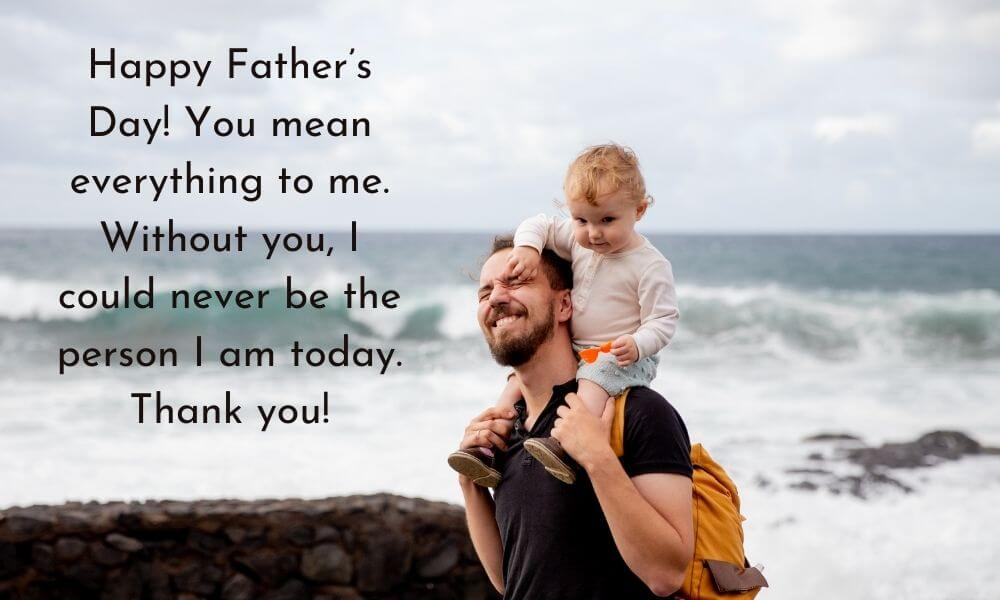 Emotional Father's Day Message