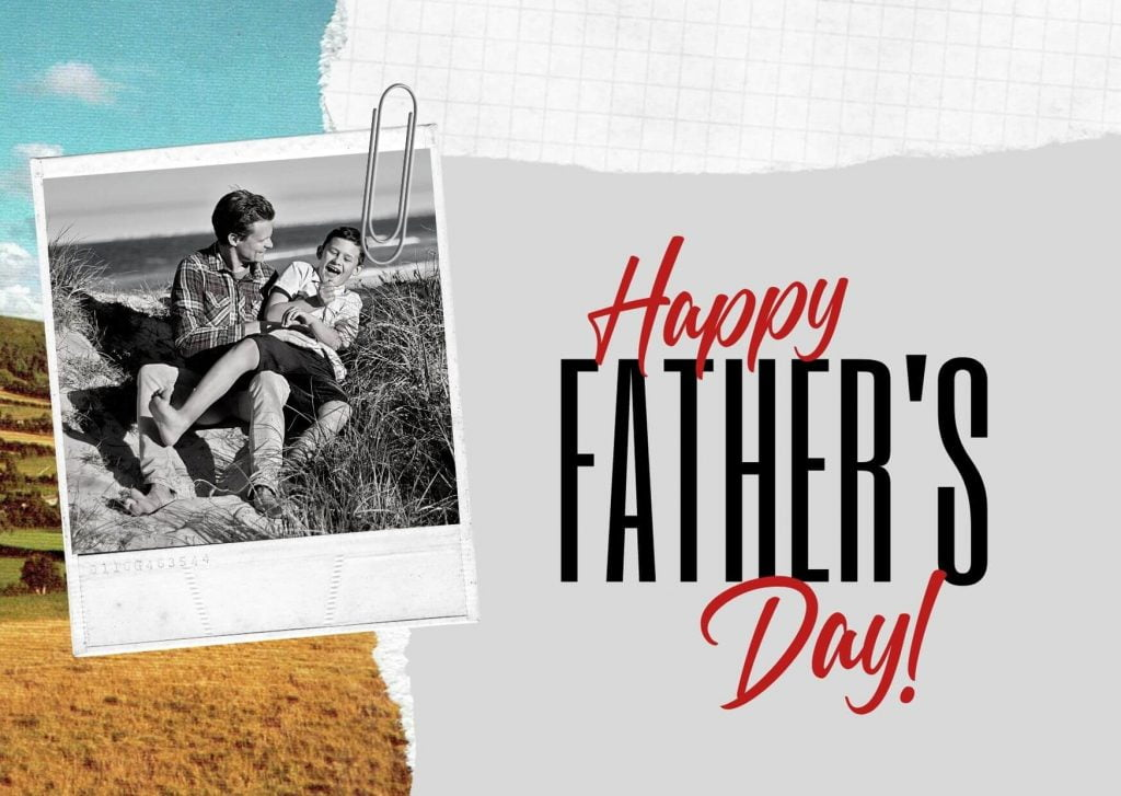 Father's Day Greetings Image from Son