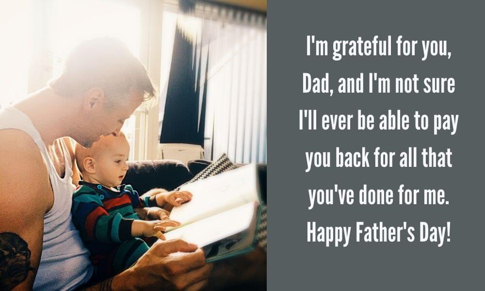 Happy Father's Day Saying Photo