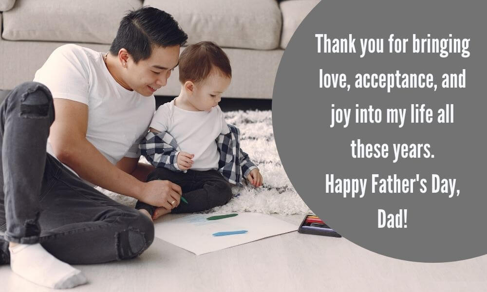 Happy Father's Day Wish from Son Photo