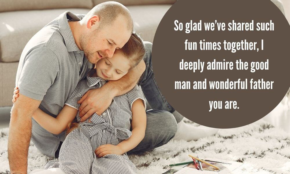 Happy Father's Day Wishing Image from Daughter