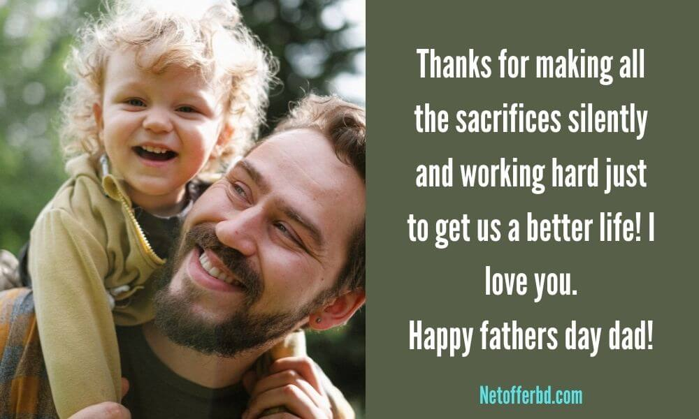 Happy Father's Day Wishing from Daughter Image